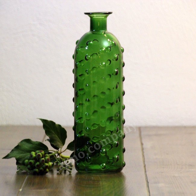 Glazen cactus vaas