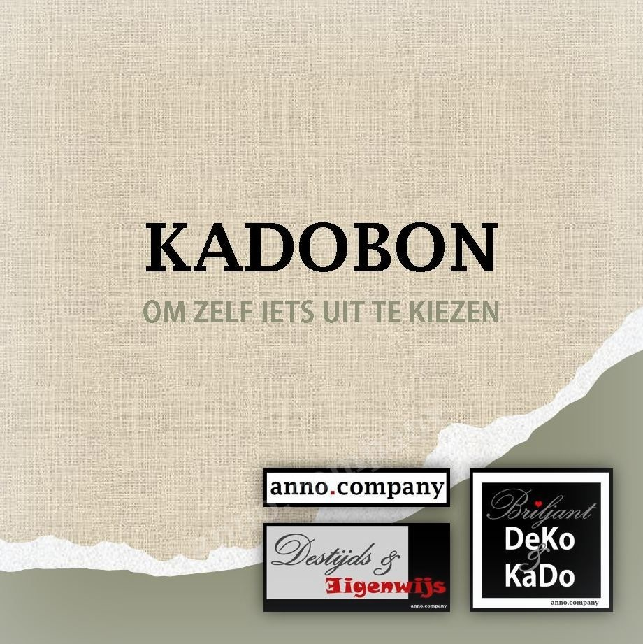 anno.company Kadobon; cadeaubon