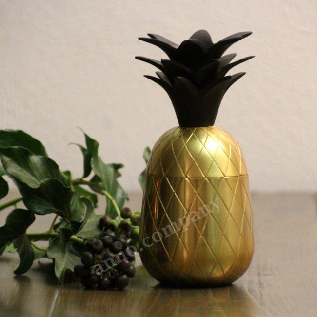 Goudkleurige Pineapple box