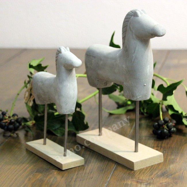 Deco paardjes aardewerk