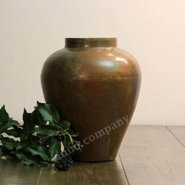 Koperkleurige vaas