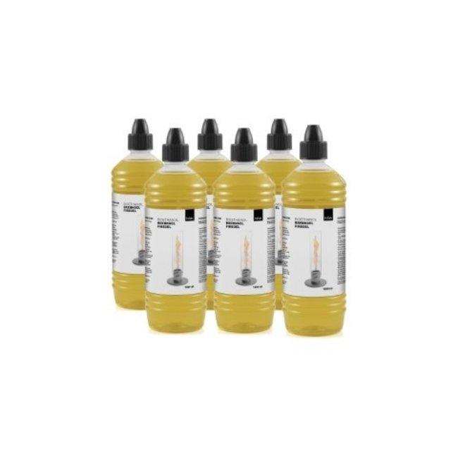 Hofats Spin Bio-Ethanol Fles 1 liter Set van 6 Stuks