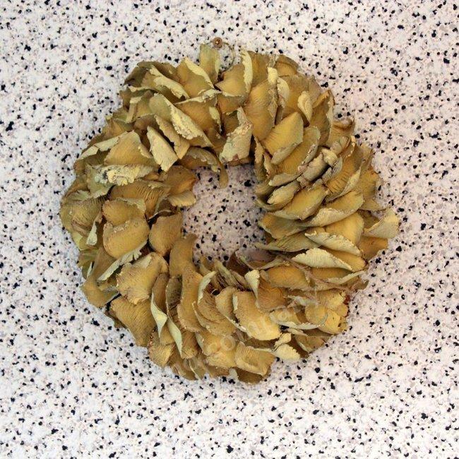 Krans Palm petal wreath