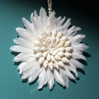 Hanging Shell Flower