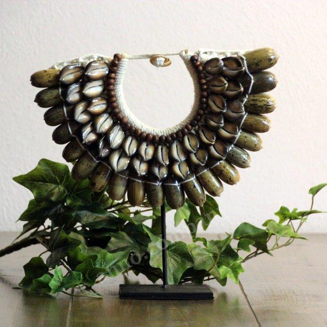 Shell Necklace schelpen standaard