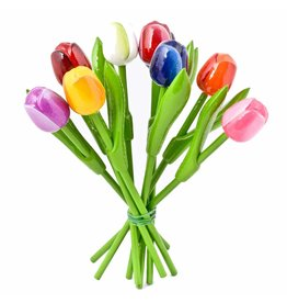 Bouquet of Wooden Tulips, Small