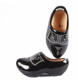 Wooden Shoe Factory Marken Klompen,  Zwart Boeren Design