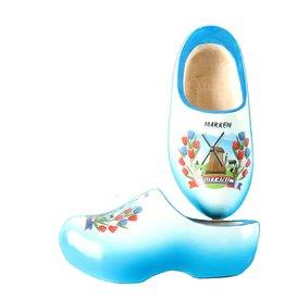 Wooden Shoe Factory Marken Klompen, Marken Blauw Wit