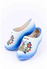 Wooden Shoe Factory Marken Wooden Shoes Marken Blue White