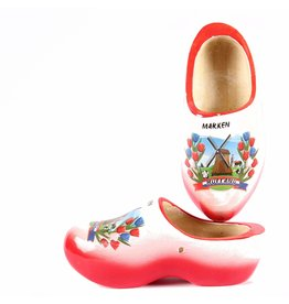 Wooden Shoe Factory Marken Wooden Shoes Marken Red White