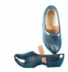 Wooden Shoe Factory Marken Tripklompen, Denim