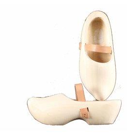 Wooden Shoe Factory Marken Tripklompen, Blank