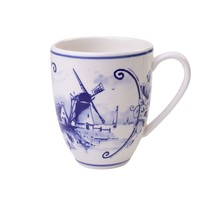Delft Blue Coffee Mug Large,  Windmill 2