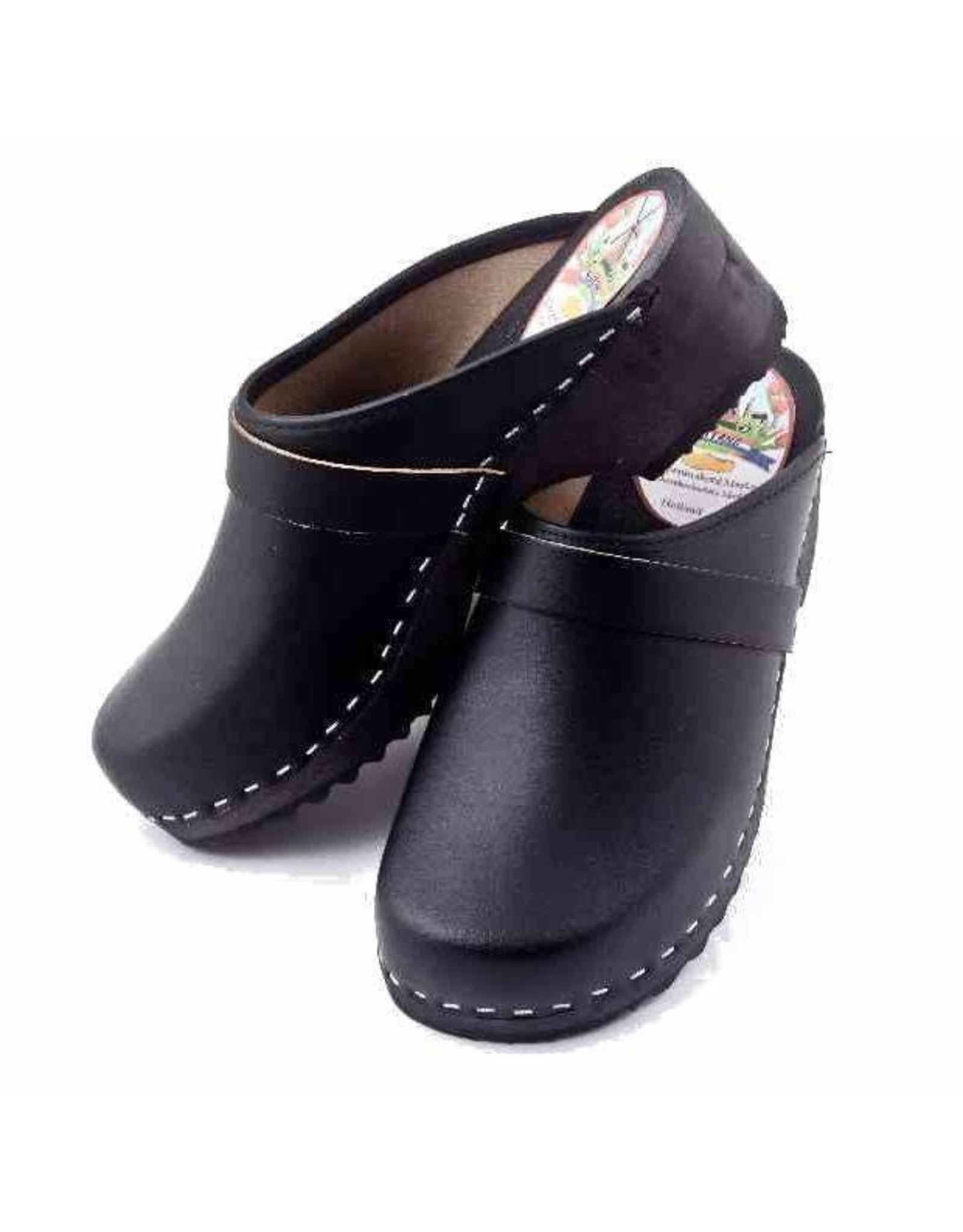 Simson Leather Clogs, Simson, Brown