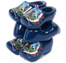 3 Souvenir Clogs, Blue, 8 Cm / 3.15 Inch
