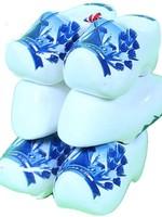 3 Souvenir Clogs, Delft Blue, 8 Cm / 3.15 Inch
