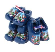 4 Souvenir Clogs, Blue, 6 Cm / 2.36 Inch