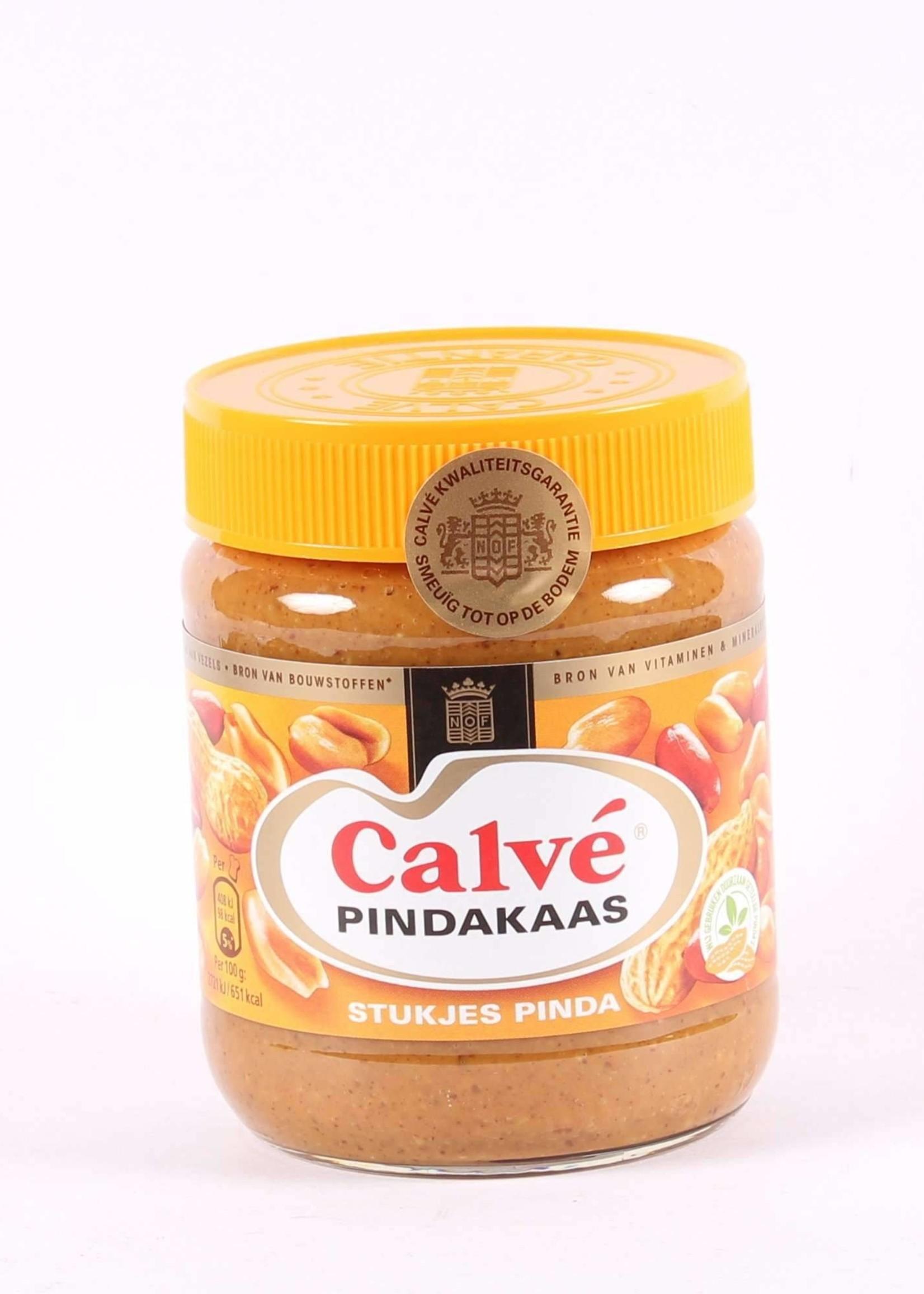 Calvé Pindakaas met stukjes Pinda, Hollandse Pindakaas