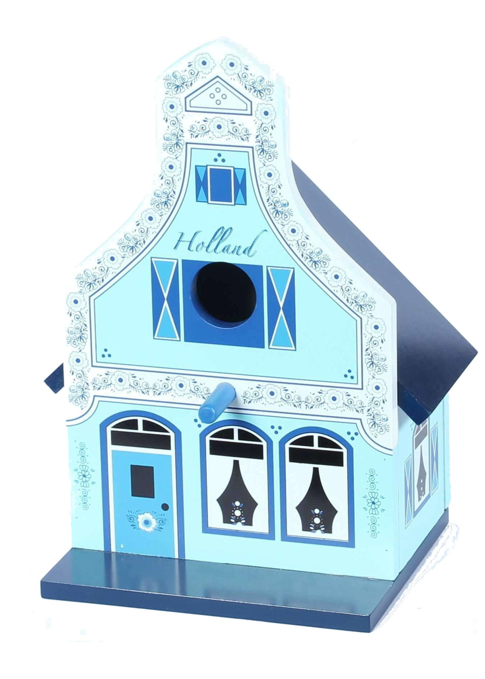 Vogelhuisje, Traditioneel Hollands Huisje, Delfts Blauw