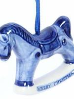 Kerstbal, Delfts Blauw, Hobbelpaard 1