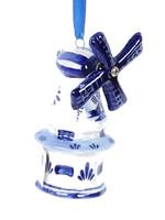 Kerstbal, Delfts Blue, Windmolen 4