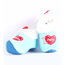 Clog Slippers / Baby Wooden Shoes Blue, Baby Boy