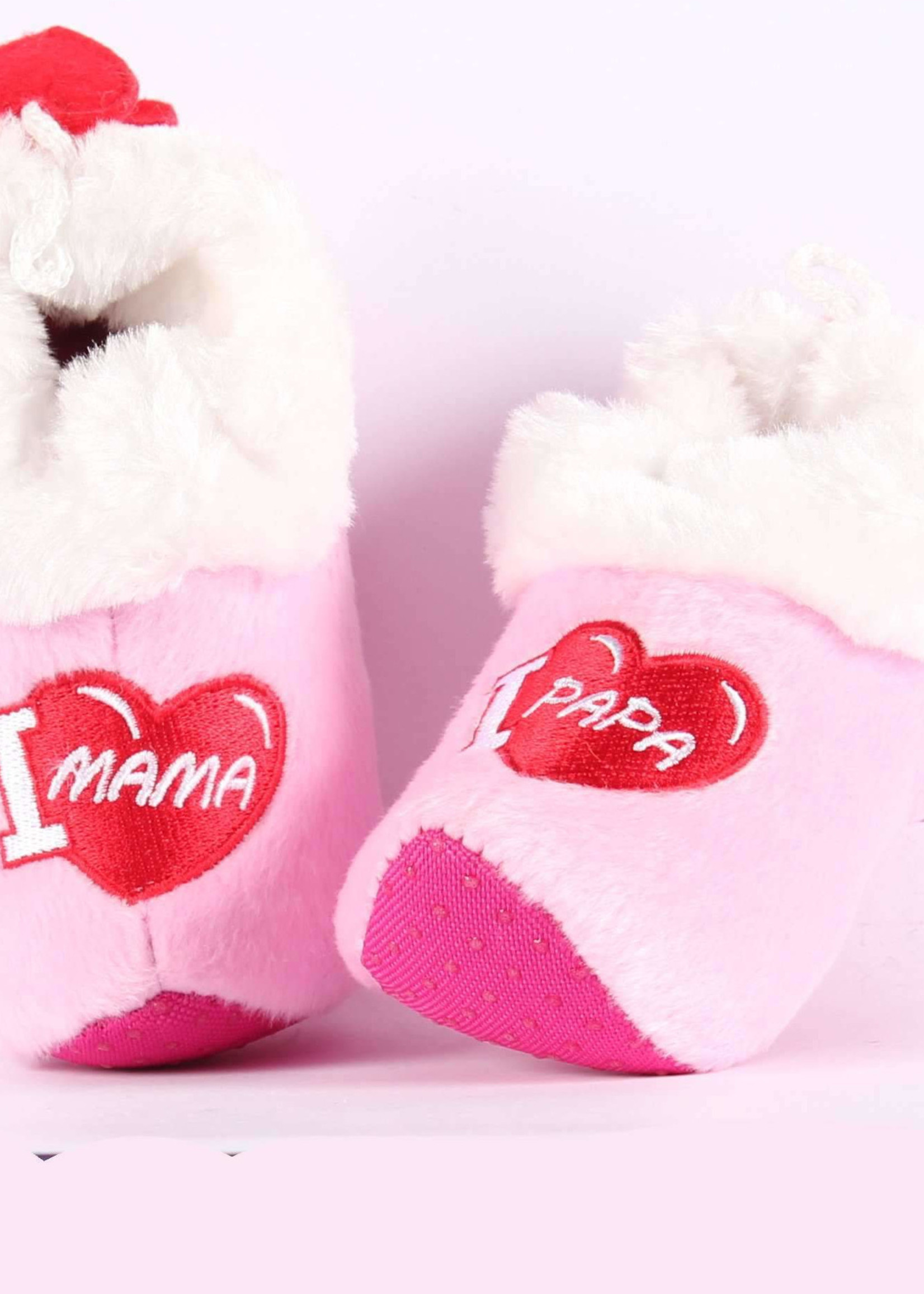 Clog Slippers / Baby Wooden Shoes Pink, Baby Girl