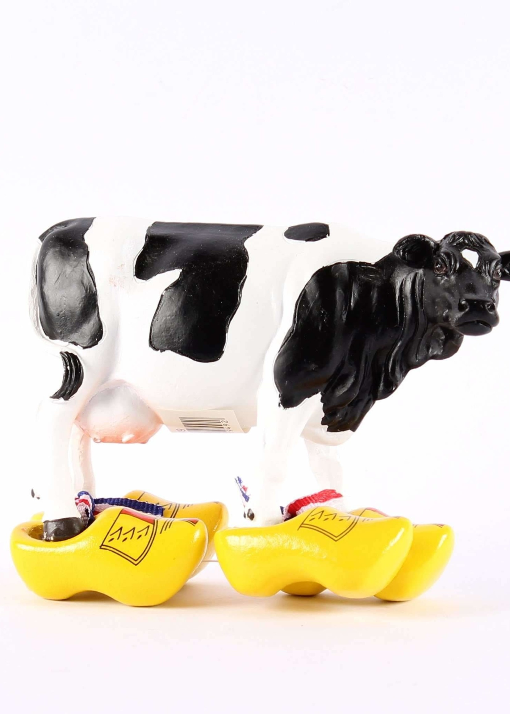 Cow with Clogs, 12 x 8 cm (4,5 x 3,1 Inch)