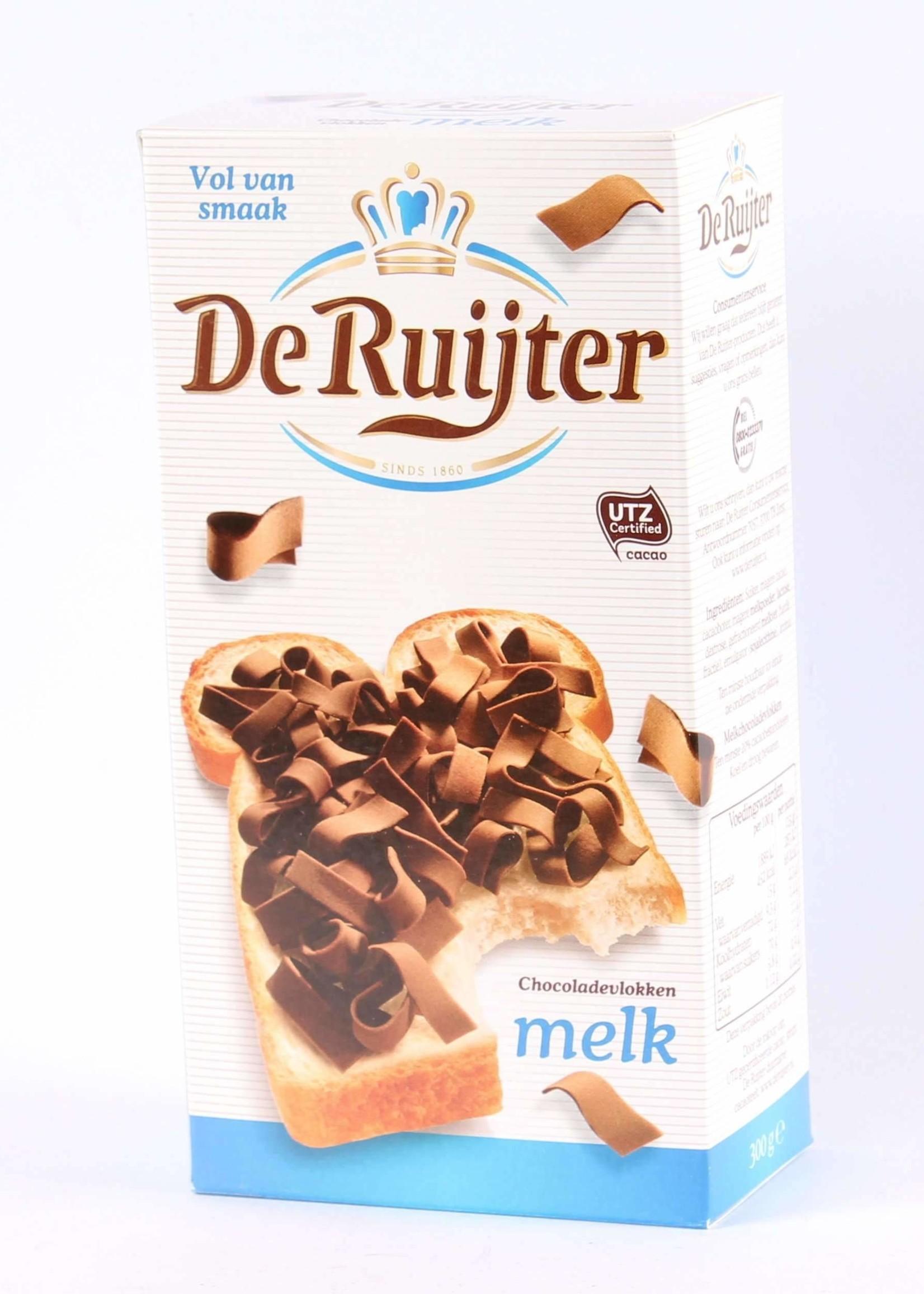 De Ruijter, Vlokken Melk, Milk Chocolate Flakes