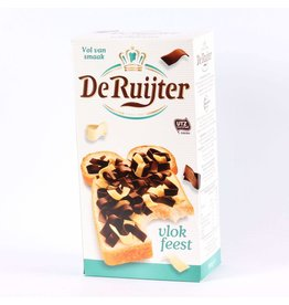 De Ruijter, Vlokkenfeest, Mixed Chocolate Flakes, Milk and White Chocolate