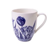 Delfts Blauwe Koffiemok met een Tulp Design