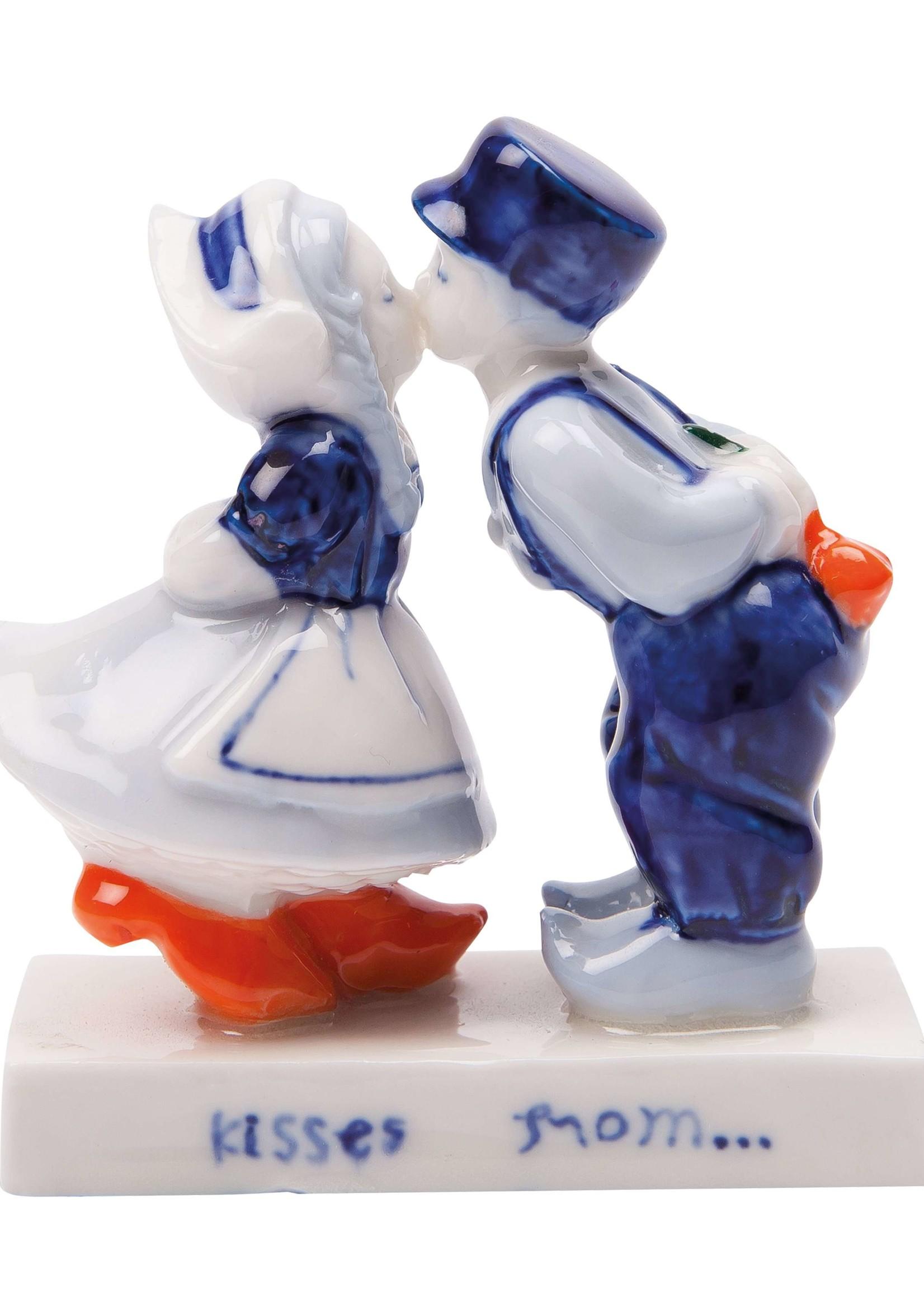 Delft Blue Kissing Couple (13 cm)