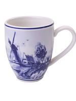 Delft Blue Senseo Mug with a Windmill