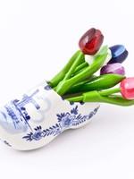 Delft Blue Senseo Mug with Flower Design