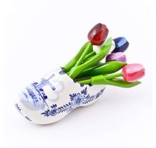 Delfts Blauwe Senseo Mok met Bloemen Motief