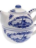 Delft Blue Tea for One Teapot