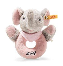 Steiff Trampili Elefant Greifring Rosa