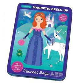 Mudpuppy Magnetic Tin Dress-Up Princess