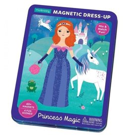 Mudpuppy Mudpuppy Magnetic Tin Dress-Up Princess