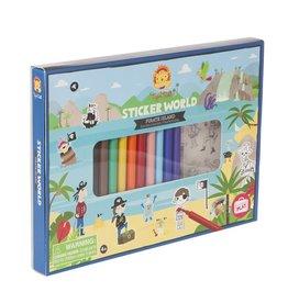 "Tiger Tribe Sticker World ""Pirates Island"""