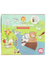 """Tiger Tribe Colouring Pack """"Woodland Friends"""""""