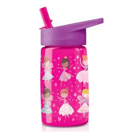 "Crocodile Creek Tritan Bottle ""Pink Wonders"""