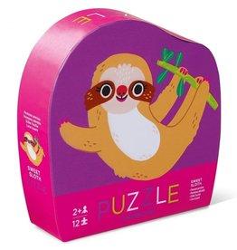 "Crocodile Creek Mini Puzzel ""Luiaard"" (12pc)"