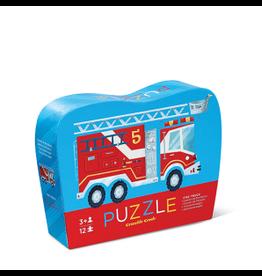 "Crocodile Creek Mini Puzzel ""Fire Truck"" (12pc) Crocodile Creek"