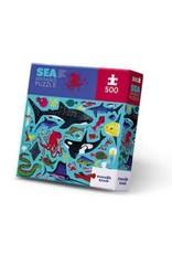 """Crocodile Creek Classic Boxed Puzzle """"Sea Animals"""""""
