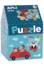 APLI APLI Dieren Puzzel 24-delig