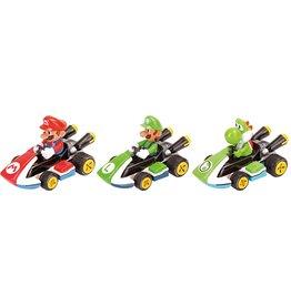 Carrera Pull & Speed Mario Kart - 3-Pack Mario, Luigi & Yoshi