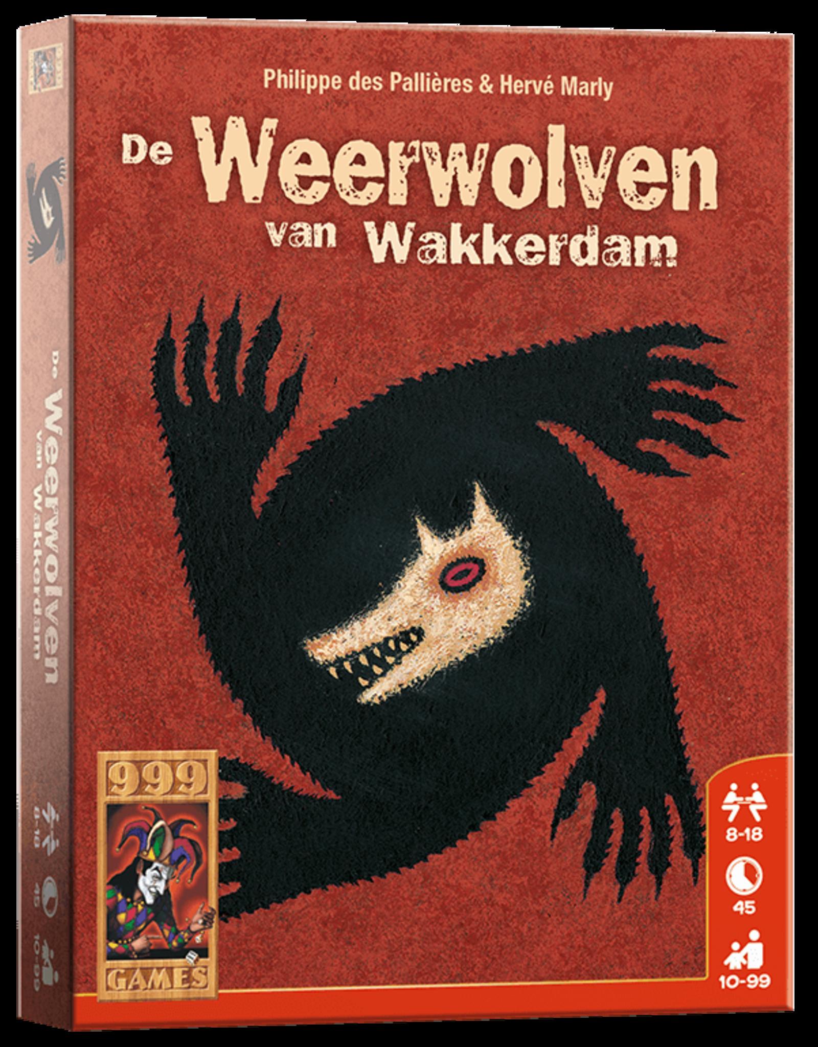 999 Games De Weerwolven van Wakkerdam - Basisspel