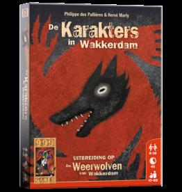 999 Games De Weerwolven van Wakkerdam - Karakters