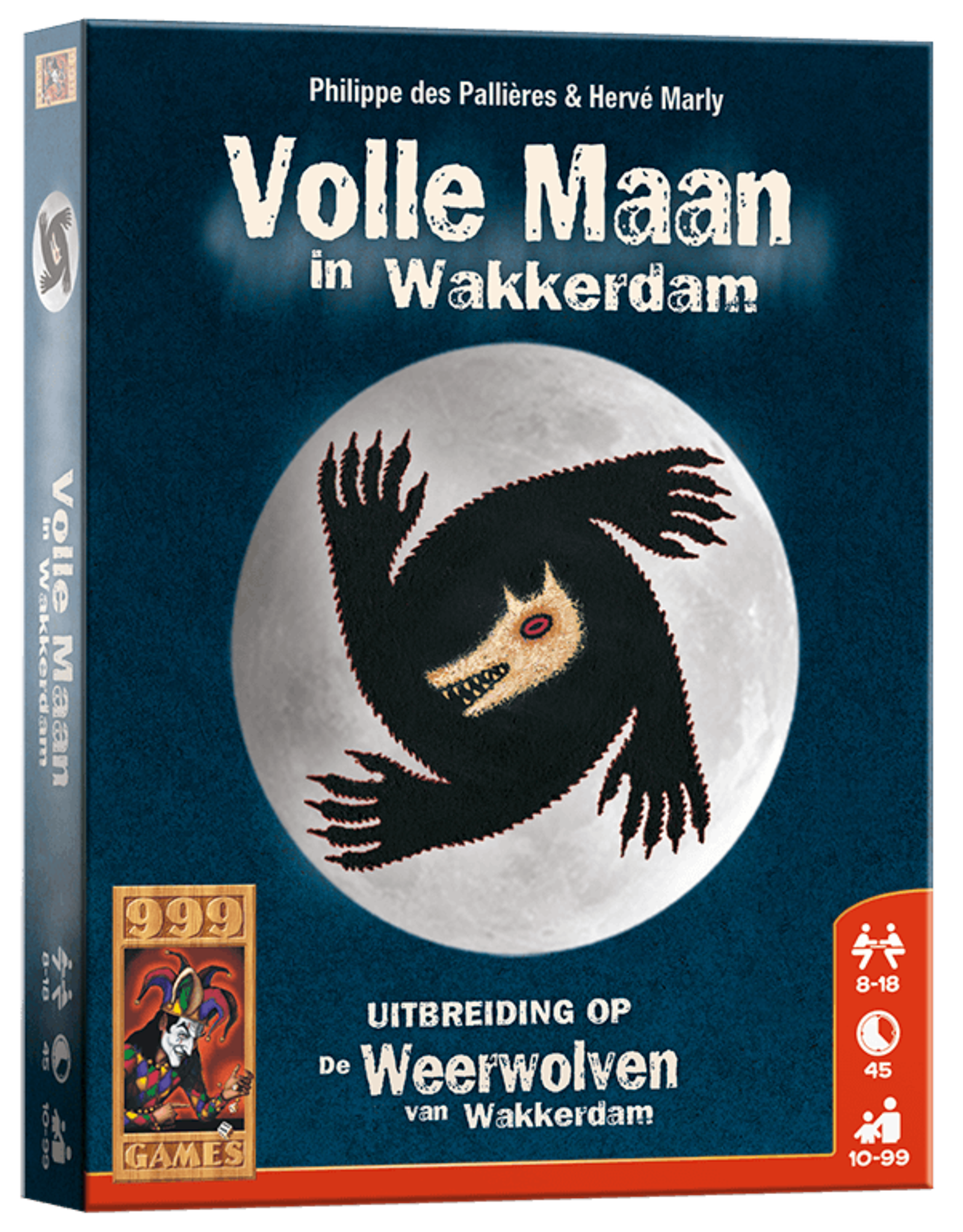 999 Games De Weerwolven van Wakkerdam - Volle Maan in Wakkerdam